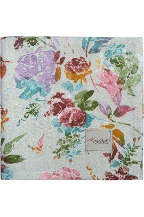 Салфетка на стол La Nuit ORO Роза разноцветная