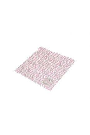 Салфетка Розовая клетка Прованс#AndreTAN