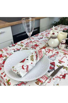 Салфетка на стол Веселый Санта