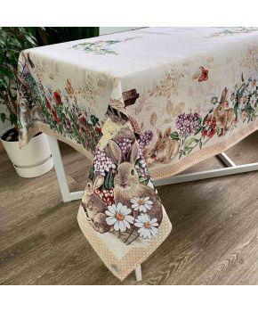 Гобеленовая скатерть на стол Alicia