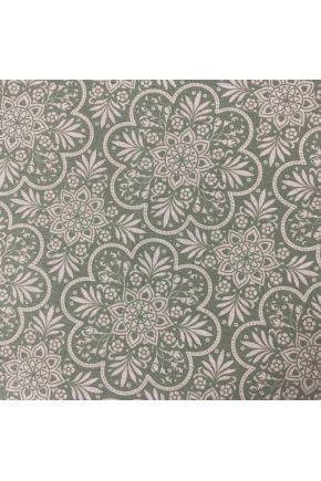 Водоотталкивающая скатерть Симфони Lace on green