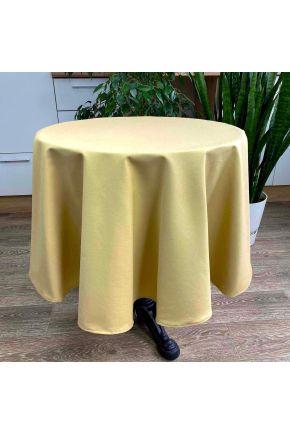 Скатерть на стол круглая Шафран
