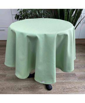 Скатерть на стол круглая Зеленая