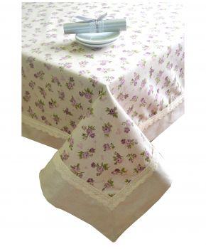 Скатерть на праздничный стол Прованс Lilac Rose