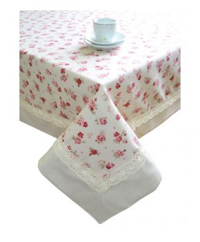 Скатерть на праздничный стол Прованс Red Rose