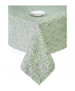 Скатерть на стол Цветы Олива
