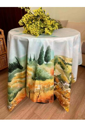 Скатерть на стол Деревья