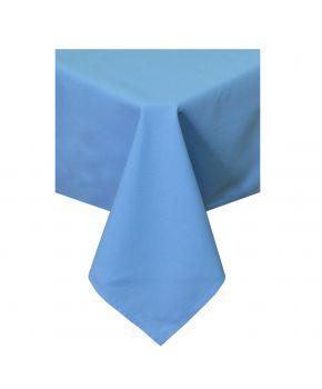 Скатерть на стол HALF PANAMA Light Blue