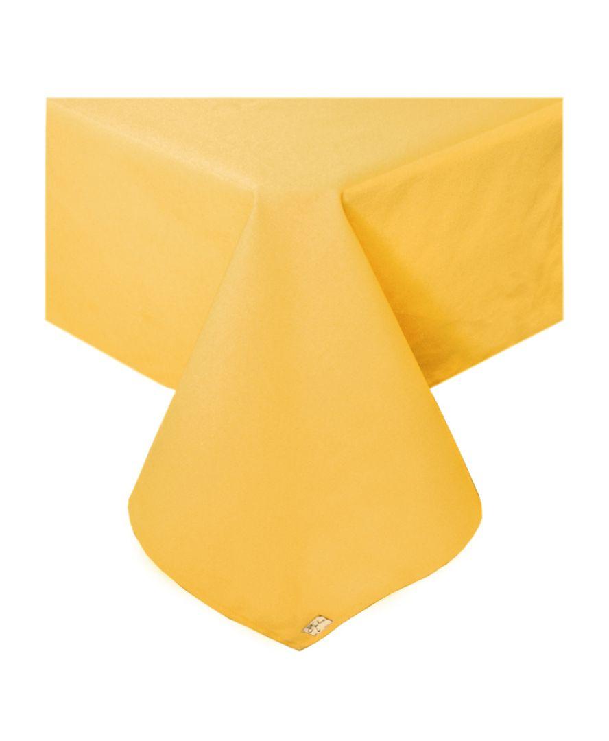 Скатерть на стол Желтая