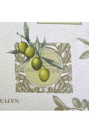 Скатерть водоотталкивающая Симфони оливка