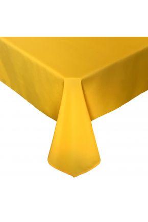 Скатерть на стол РАДУГА желтая