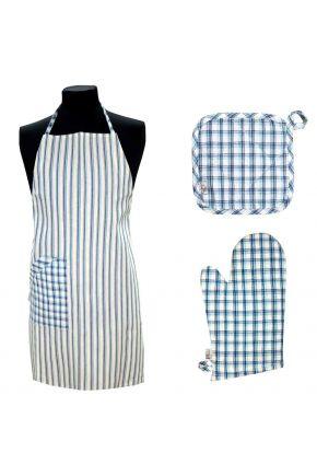 Набор для кухни Кантри синий