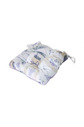 Подушка на стул Лаванда