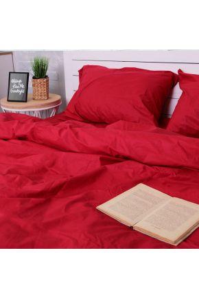 Постельное белье поплин Красный