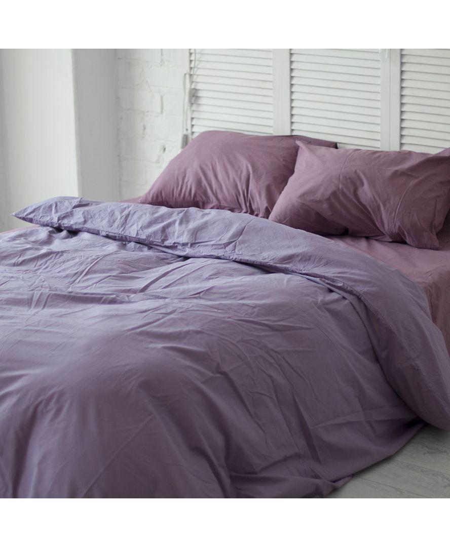 Постельное белье поплин Темно-лиловый/Виолет