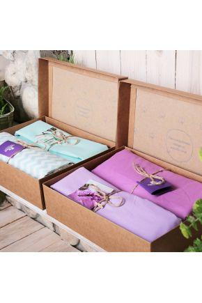 Постельное белье поплин Виолет/Сливовый горох