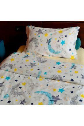 Комплект постельного белья детский Moon and Star