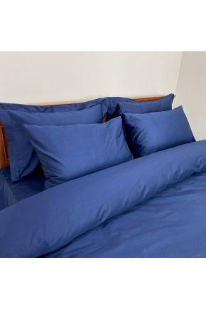 Постельное белье сатин Синий