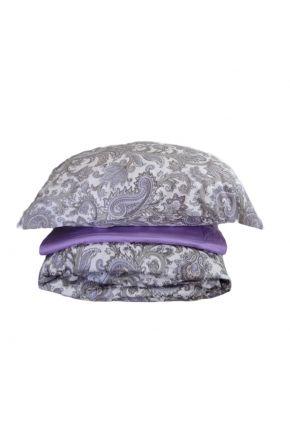 Постельное белье сатин Paisley lilac