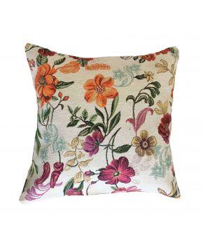 Гобеленовая подушка Цветочное поле