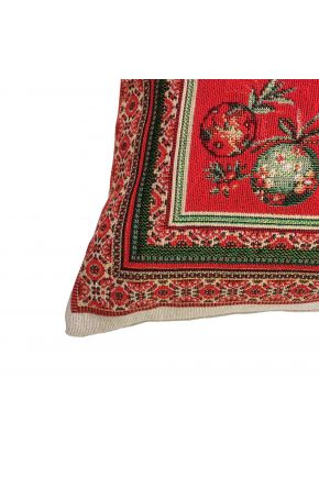 Гобеленовая подушка новогодняя Санта