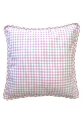 Декоративная подушка Bella Розовая клеточка