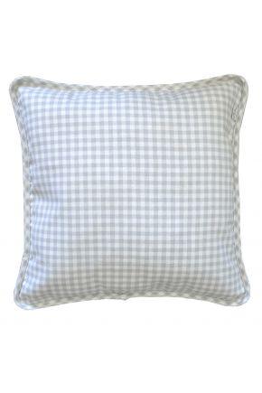 Декоративная подушка Bella Серая клеточка