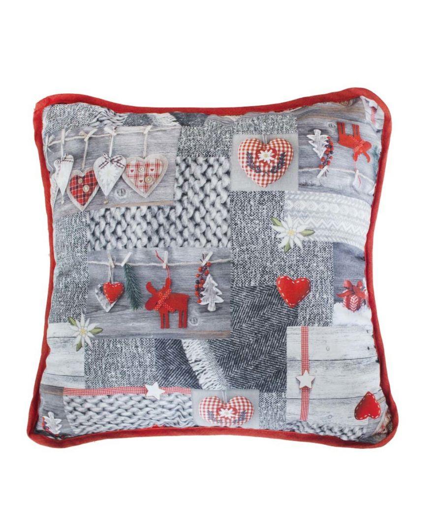 Декоративная подушка Digitale Red