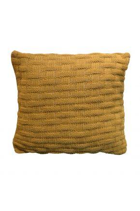 Декоративная наволочка вязаная шато груша