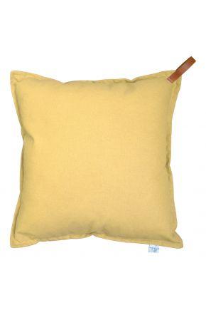 Декоративная подушка Желтая