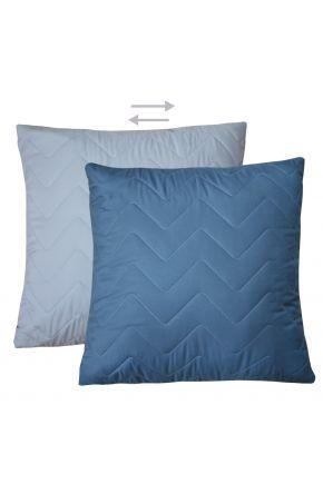 Декоративная подушка микрофибра Blue