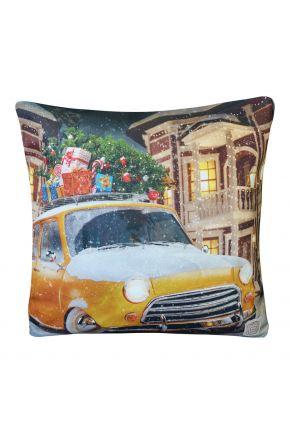 Новогодняя подушка авто желаний