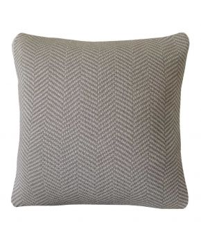 Декоративная подушка вязаная British Brown