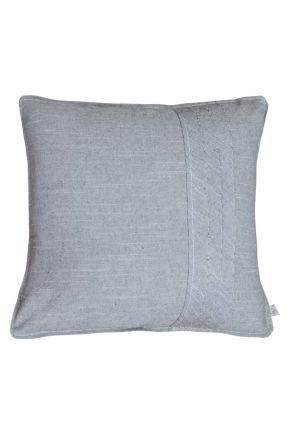 Декоративная наволочка на подушку Bohema Antracite