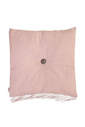 Декоративная подушка DIJON powder с пуговкой