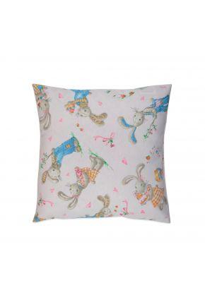 Декоративная подушка Зайчата