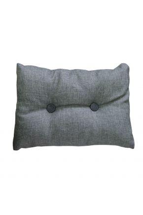 Подушка декоративная TWIST Серая
