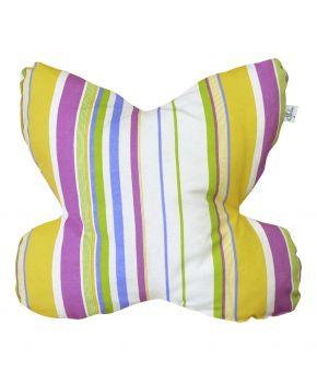 Декоративная подушка-бабочка Stripe