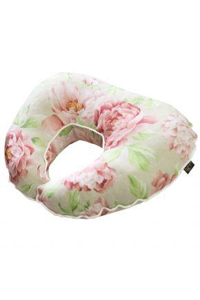 Подушка для путешествий Пионы