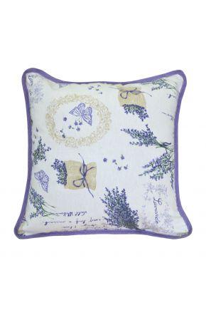 Декоративная подушка Living лавандовая