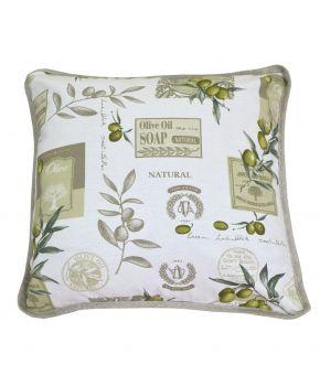 Декоративная подушка Living оливка