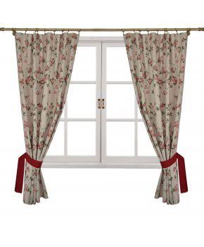 Готовые шторы Глория Цветы
