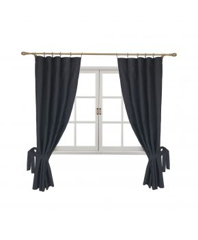 Готовые шторы Black Milan (2 ед.)
