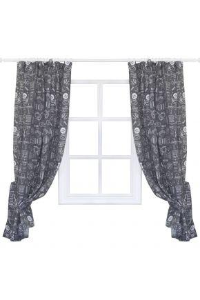 Готовые шторы Breakfast grey