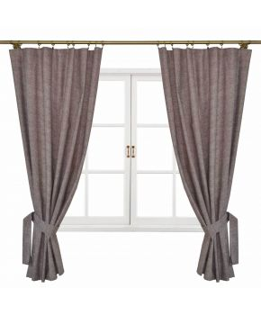 Комплект штор La Nuit ORO коричневые