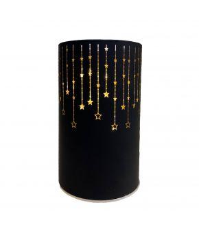 LED светильник Черно-Золотой