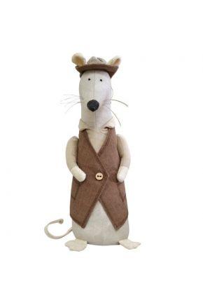 Интерьерная игрушка Крыса мистер Сирык