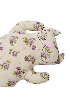 Декоративная подушка Кот Lilac rose