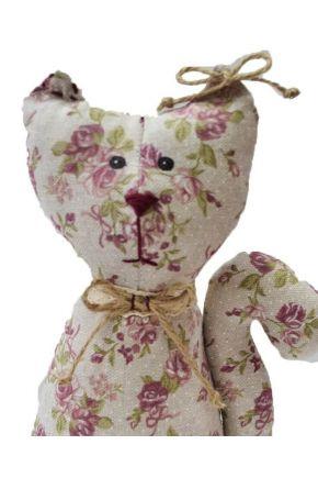 Интерьерная игрушка кот на стол Rosettes