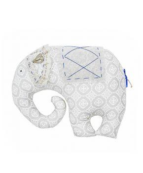 Декоративная подушка слон Ажур